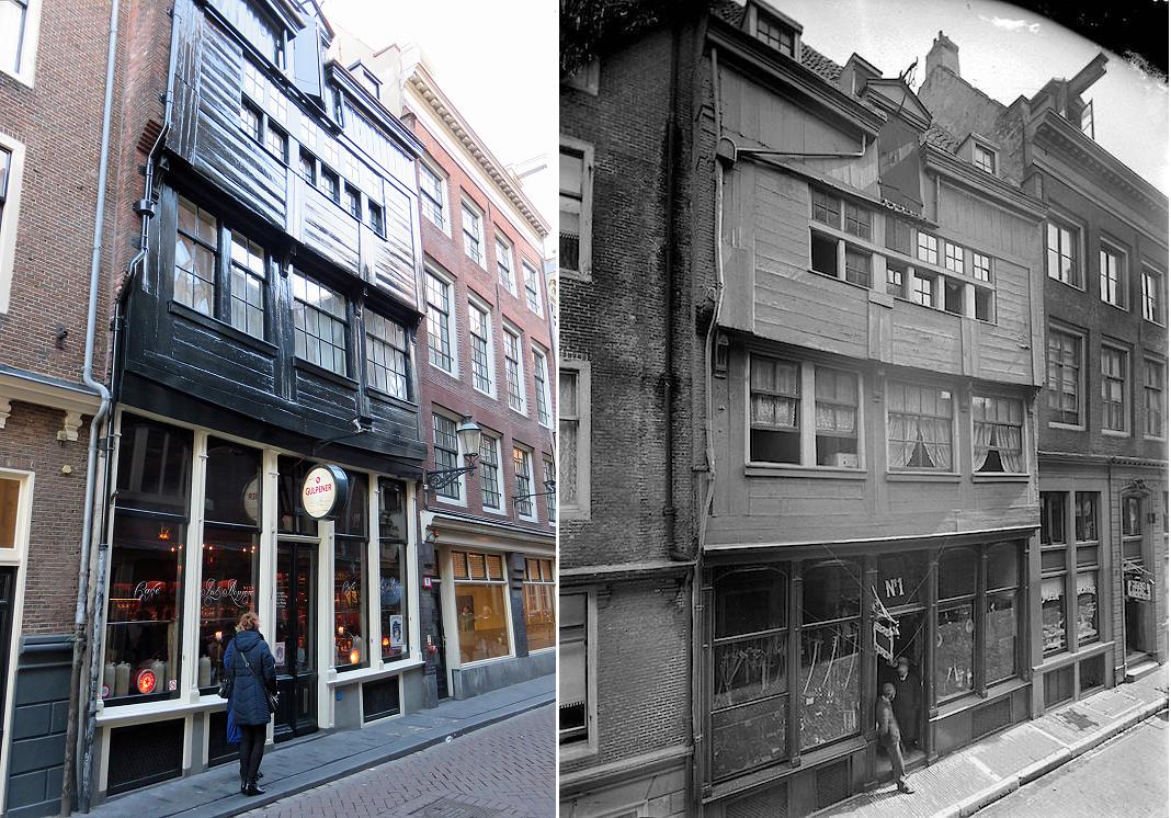 Деревянный дом в Амстердаме. Фото: Википедия