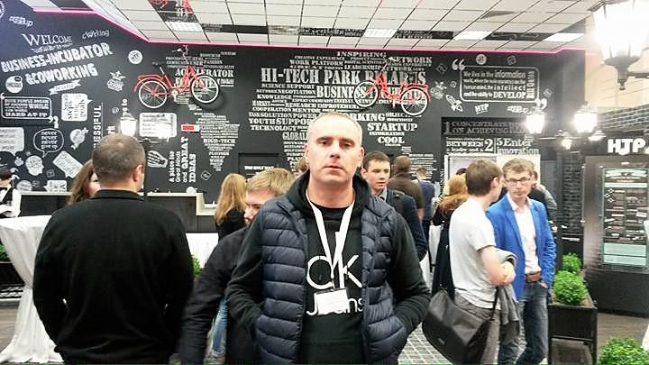 Александр Ветелкин. Фото со страницы автора в Facebook