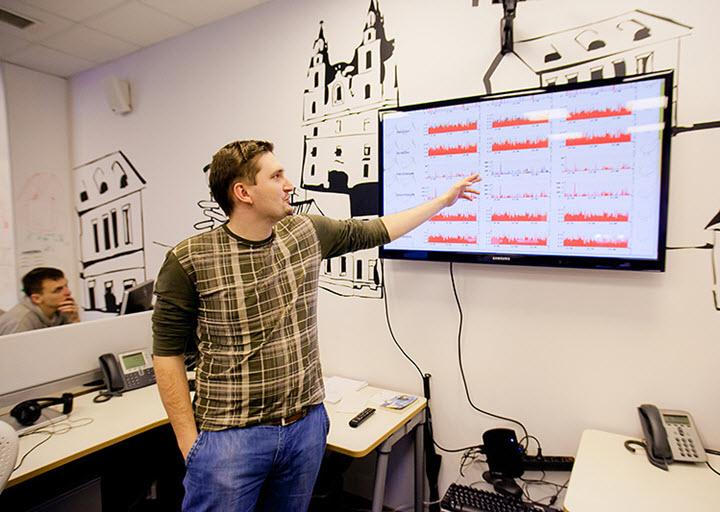 В минском офисе Яндекс. Фото с сайта citydog.by