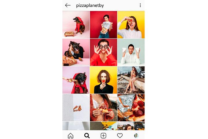Скриншот аккаунта в Instagram