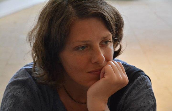 Оксана Гайко, проект Brest Stories Guide. Фото с сайта www.vb.by