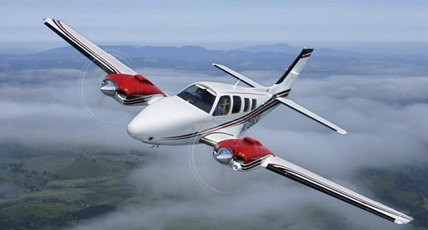 Самолет Beechcraft Baron G58. Фото с сайта aerospace-technology.com