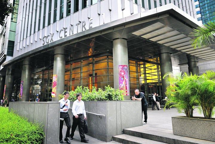 Сингапурская фондовая биржа. Фото с сайта todayonline.com