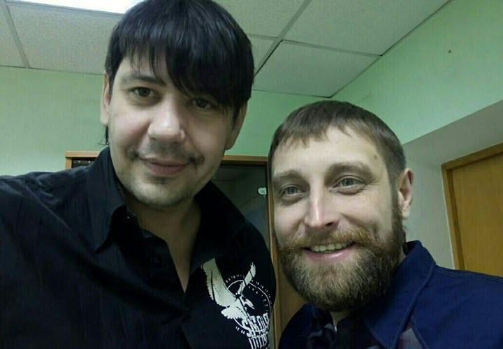 Максим Губарев и ... Фото из личного архива Максима Губарева