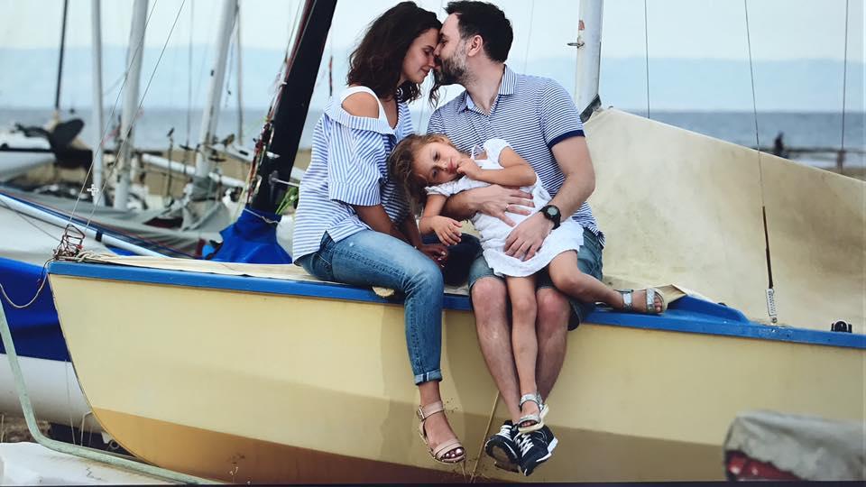 Илья Екушевский с семьей. Фото со страницы Ильи в Facebook