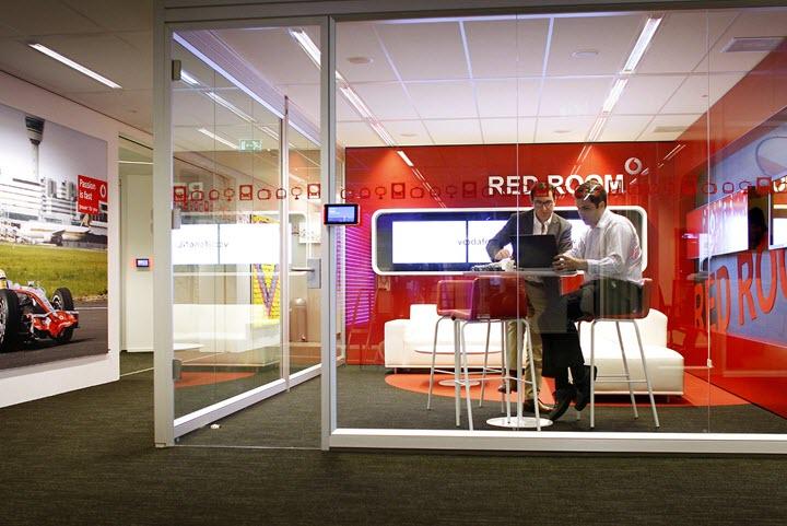 Центральный офис Vodafone, Фото с сайта steelcase.com