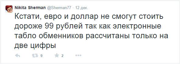 Скриншот со страницы Никиты Шермана в Твиттер