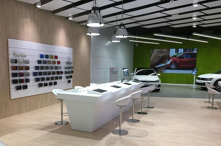 Цифровой магазин Volkswagen на Гран-Канарии. Фото с сайта motorenlinea.es