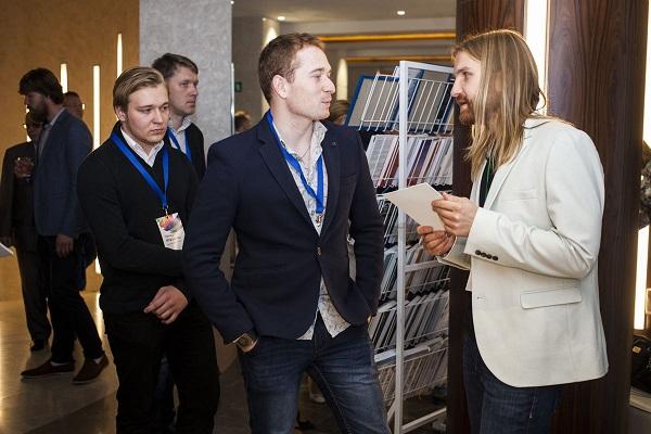Влад Кухарчук во время форума Бизнес Будущего в Минске. Фото: Дарья Бурякина, probusiness.by